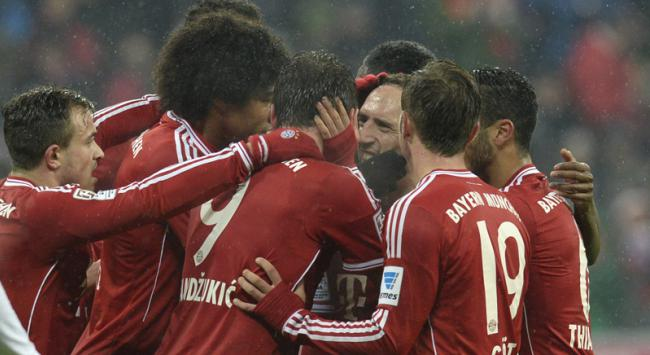 Bayern de Munique (Foto: Christof Stache/AFP)