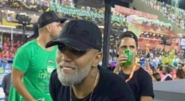 Gabigol no carnaval do Rio