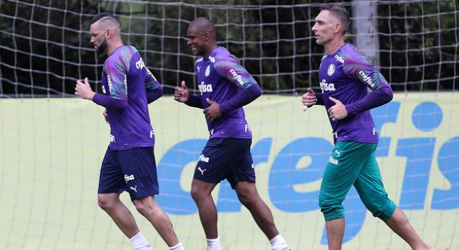 Weverton, Jailson e Fernando Prass