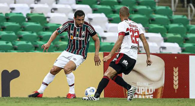 Fluminense x São Paulo - Fred