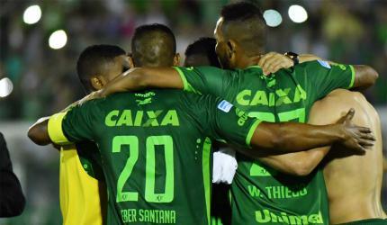La sutil cargada de Chapecoense a San Lorenzo por eliminarlos en la Copa Sudamericana