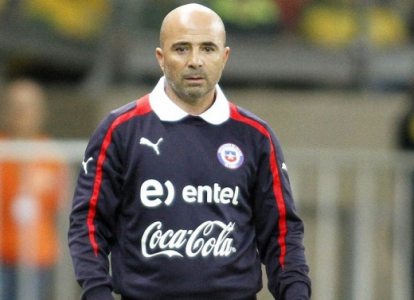 Jorge Sampaoli, técnico do Chile (Foto: Ramon Bitencourt/LANCE!Press)