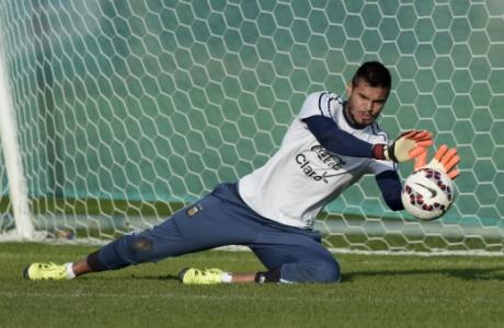 180bac51a2 Romero supera Alisson na comparação dos goleiros (Foto  AFP)