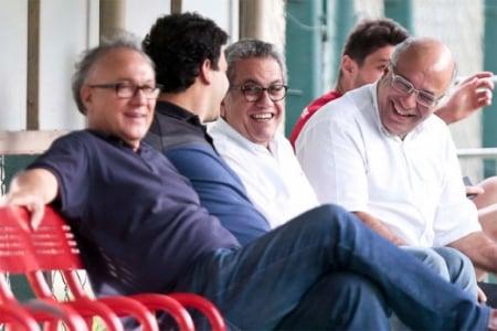 Aidar e Ataíde Gil Guerrero (Foto: Ale Cabral/LANCE!Press)