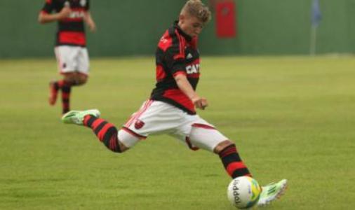 Matheus Savio - Flamengo (Divulgação)