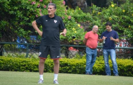 Treino - Sao Paulo - Bauza