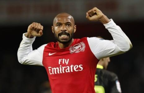 Henry pelo Arsenal