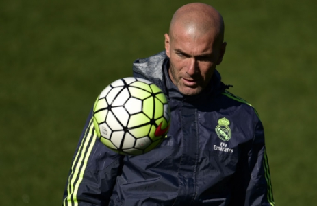 Zidane - Treino do Real Madrid