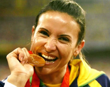 2008 - Maurren Maggi (ouro)
