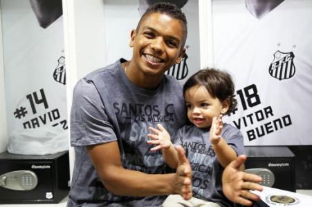 David Braz, zagueiro do Santos