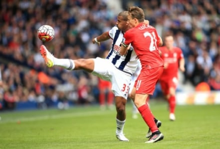 West Bromwich x Liverpool - Lucas Leiva