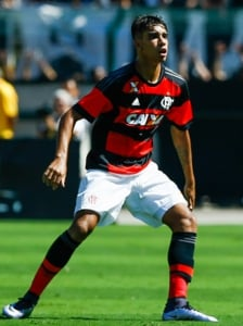 Flamengo - Lucas Paqueta (foto:Marcello Zambrana)