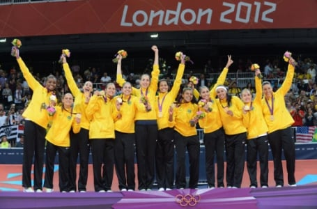 Olimpíadas 2012 - Londres - Equipe brasileira Feminina de vôlei