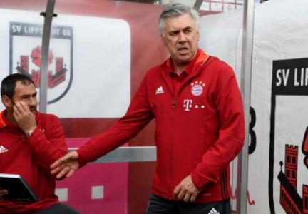 Bayern de Munique x Lippstadt - Carlo Ancelotti