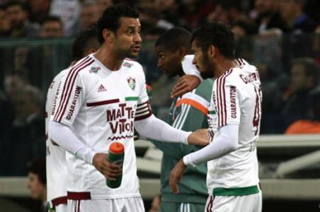 Jogaram tudo nas costas do Scarpa após a saída de Fred do Fluminense ... 582a4b13c0962