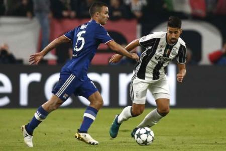 Khedira - Juventus x Lyon