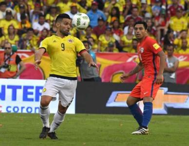 Falcao García - Colômbia x Chile