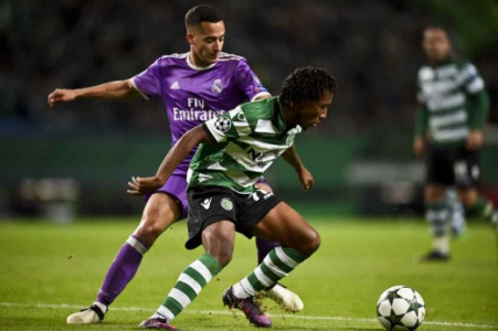 Gelson Martins - Sporting x Real Madrid