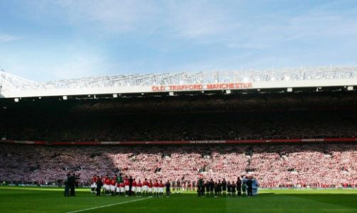 No dia 10/2/2008, o clássico Manchester United x Manchester City homenageou as vítimas do acidente de Munique