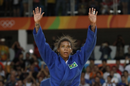 Rafaela Silva - Ouro no judô