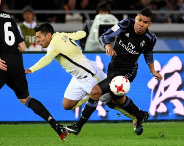 Casemiro - Real Madrid x América do México