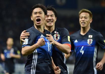 Kagawa, Okazaki e Honda - Japão