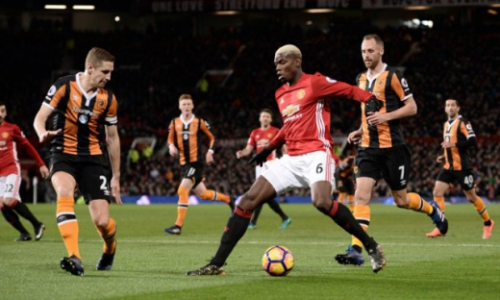 Pogba - Manchester United x Hull City