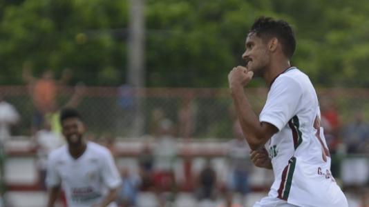 Campeonato Carioca Fluminense x Resende Gol Gustavo Scarpa