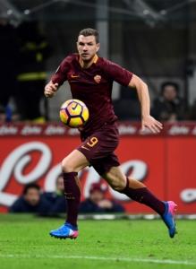 Dzeko anotou 19 gols na Itália e lidera a artilharia