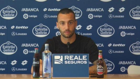 Guilherme Santos, volante do Deportivo La Coruña
