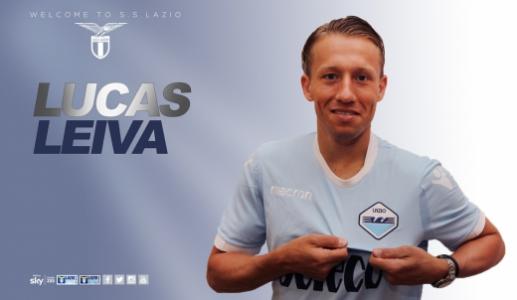 Lucas Leiva anunciado na Lazio