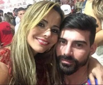 Viviane Araújo e Radamés