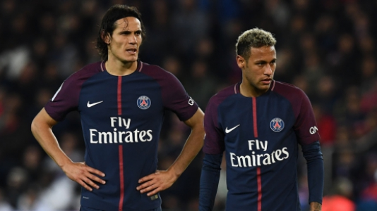 166522fa1f Relação Cavani-Neymar foi estremecida na última temporada (AFP)