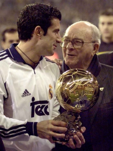 2001 - Luis Figo (Real Madrid/Portugal)
