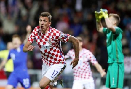 Mandzukic - Croácia x Finlândia