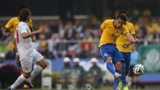 Brasil 1x0 Sérvia - 6/6/2014