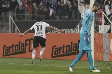 Romero Corinthians x Santos