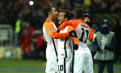 Gol de Bernard - Shakhtar Donetsk x Manchester City