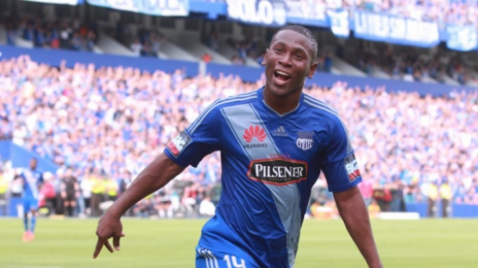 Bryan Angulo, do Emelec