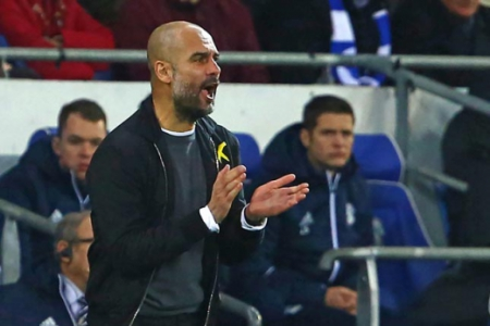 Guardiola - Cardiff City x Manchester City