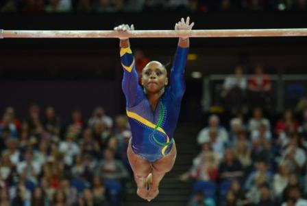 Daiane dos Santos, em 2004, foi a primeira ginasta brasileira conquistar uma medalha de ouro em uma edição do Mundial. Sua importância é tão grande que dois movimentos do esporte foram batizado com seu nome.