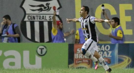 Leandro Costa marcou o gol da vitória do Central sobre o Sport