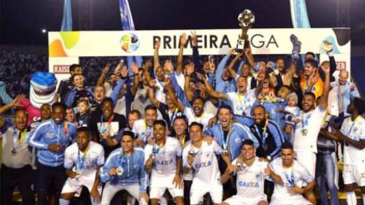 Londrina campeão da Primeira Liga de 2017