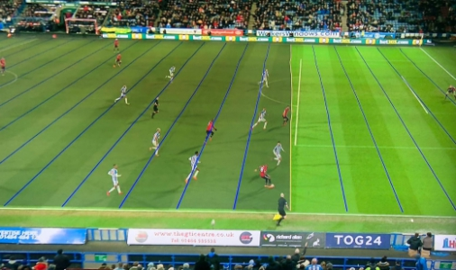As imagens exibidas no telão não foram as mesmas que o árbitro viu para  tomar a decisão 032261f98ad5d