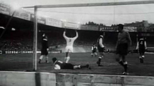 1955-56 - Real Madrid 4 x 3 Stade Reims
