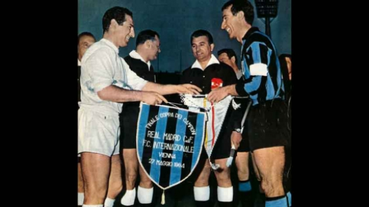 1963-64 - Internazionale 3 x 1 Real Madrid