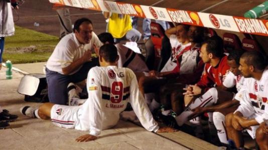São Paulo x Rosario, pela Copa Libertadores de 2004