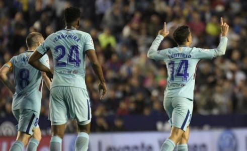 Coutinho - Levante x Barcelona