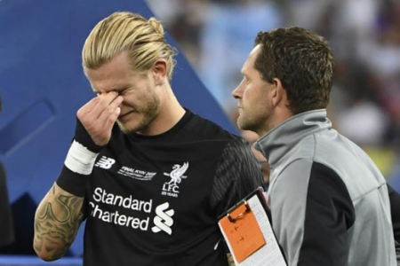 Karius - Real Madrid x Liverpool