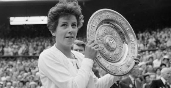 Maria Esther Bueno em Wimbledon